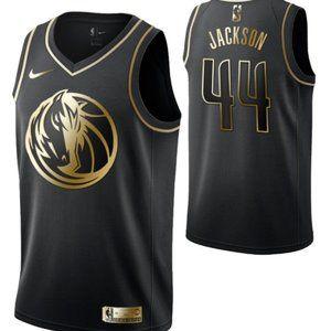 Dallas Mavericks #44Justin Jackson Swingman Jersey